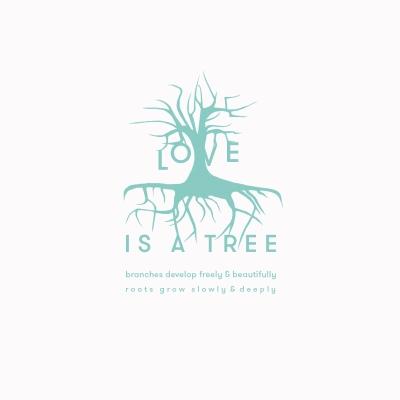 GESCHENK-KARTE * love is a tree *