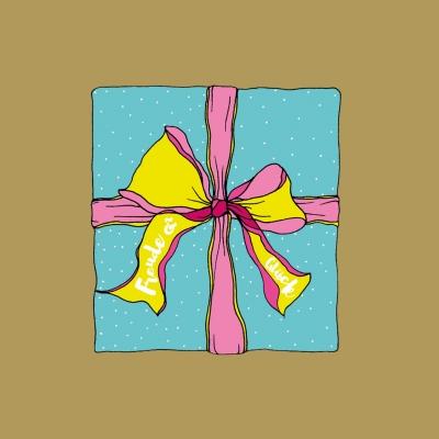 GESCHENK*KARTE Freude & Glück .. für die digitale Wundertüte..
